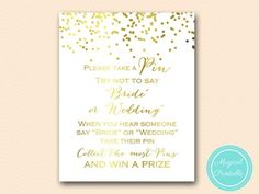 BS159-dont-say-bride-wedding-pin-8x10-gold-foil-bridal-shower-game