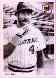 Kevin Bass,pelotero de excelente actuacion con Los Leones del Caracas en los años 80s