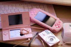 pink electronics.