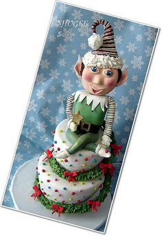 Elf... by Shugee's Custom Cakes & Cookies ♥, via Flickr