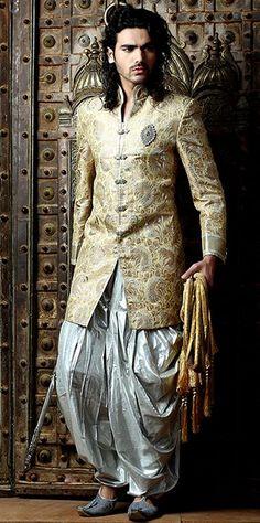 Wedding Indo Western Sherwani. Item code: SIJ6011: