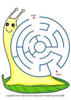 File Folder Activities, Alphabet Activities, Kindergarten Activities, Mazes For Kids, Worksheets For Kids, Cute Coloring Pages, Coloring Books, Kids Travel Activities, Dots Game