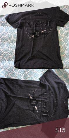 Dark grey Hurley tee Like new and hardly ever used :) Hurley Shirts Tees - Short Sleeve