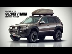 Suzuki Vitara Modified into an Offroad SUV - Rendering Grand Vitara Suzuki, Suzuki Vitara 4x4, Suzuki Jimny, Car Mods, Expedition Vehicle, Fender Flares, Toyota Land Cruiser, Cars And Motorcycles, Offroad