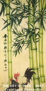 Backdrop OR007 Oriental Bamboo Panel 2