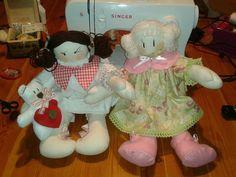 bimbe di pezza#rag dolls#cucito creativo#creative sewing