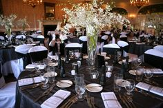 Wedding Table Decorations @ King and Prince Resort St. Simons Island, GA