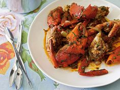 Crab with Tamarind and Chili - this is an amazing recipe from a new cookbook called Little Vietnam. You will love this!!!