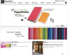 paperworld 2011: Papier denkt – Paperthinks #leather #recycling