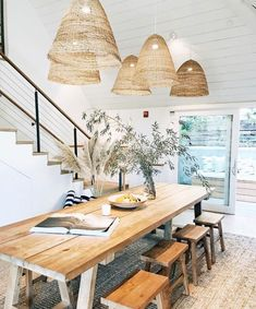 21 Awesome Dining Table Design You Should Try In 2019 For Renovation Dinning Table Design, Glass Dining Table, Ikea Dinning Table, Simple House Design, Design Your Home, Rooms Ideas, Interiores Design, Home Kitchens, Modern