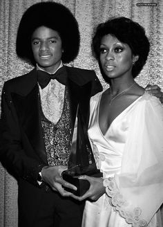 Michael Jackson & Lola Falana