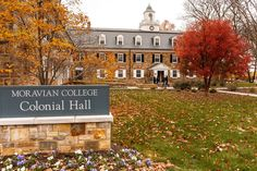 A beautiful shot of Colonial Hall