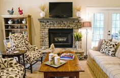 Americas Home Place | Fireplace
