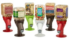 Snack Spout - Nut and Candy Jar Dispenser
