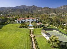 3.5 Acres Montecito Estate - 710 Picacho Ln - $17,900,000 Home for sale, House images, Property price, photos