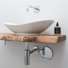 A natural experience with the small guest toilet A natural experience . A natural experience with the small guest toilet A natural experience . Small Toilet Room, Guest Toilet, Downstairs Toilet, Guest Bathrooms, Small Bathroom Sinks, Bathroom Wallpaper, Wet Rooms, Bathroom Interior Design, Bathroom Inspiration