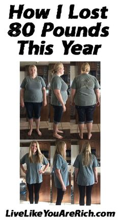 How I Lost 80 Pounds This Year