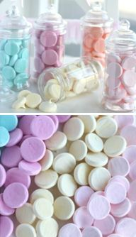 How to make pastel meringue buttons (Passion 4 baking). So pretty.