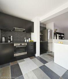 mix gray floor