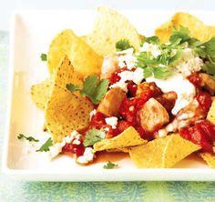Mexické kuře s chipsy