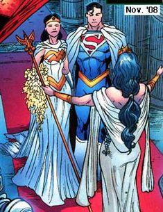 wedding dress with Superman Wonder Woman Comic, Superman Wonder Woman, Wonder Women, Superman Love, Batman Vs Superman, Superman Stuff, Batman Arkham, Batman Art, Batman Robin