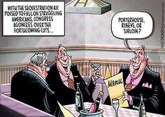 Sequestration = Porterhouse, ribeye, or sirloin?