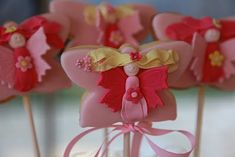 How to Fairy Wand Cookies - what a great idea for a little girl's b-day