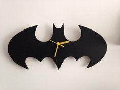 Batman Wall Clock by TAGMonogramBoutique on Etsy