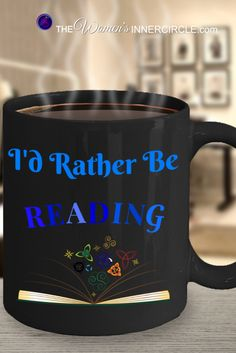 I'd Rather Be Reading ~ if you love to read, like I do, this is for YOU! Also a wonderful gift for another Book Lover! Wonderful Birthday Gift, for Valentines Day, any Holiday or just because you are thinking about them.