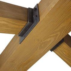 Faux wood beam  - Hanger Straps