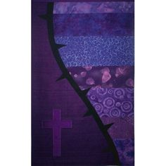 Beautiful contemporary liturgical textiles for churches featuring modern designs, luxurious fabrics and meticulous craft. Handmade clergy and pastor stoles! Church Banners Designs, Lenten, Cleric, Banner Design, Painted Furniture, Worship, Modern Design, Contemporary, Purple