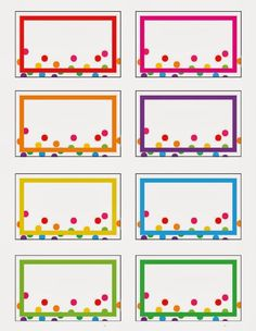 Rainbow Party Printables (Free!) by Everyday Art