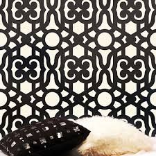 wall pattern stencil - Google Search