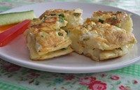 A simple recipe that offers lots of tasty vegetables in an easy-to-eat form. Makes 4 portions