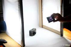 Como hacer una caja de luz para fotografía