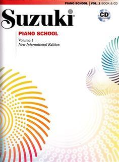 Suzuki Piano School: Volume 1: New International Edition with CD