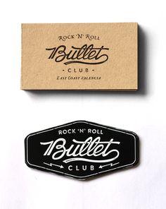 Bullet Club by David Sanden, via Behance