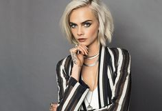 Cara Delevingne - love the jacket
