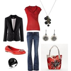 Minus the flats I have this outfit!! Just never thought to put together