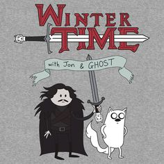 Winter Time! by Daisy May Edwards. I need this shirt even more.
