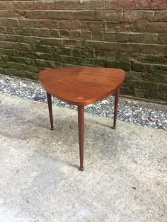 Fine Mid Century Modern Tripod Guitar Pick Table by AnthonyRosaModern on Etsy