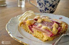 Rhabarberkuchen mit weißer Schokolade - Madame Cuisine