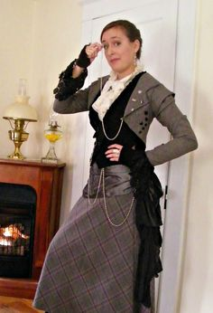Antiquarian Steampunk Jacket. $85.00, via Etsy.