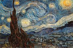 Starry Night, c. 1889 Poster at AllPosters.com