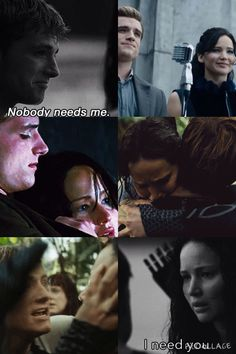 """""""Katniss will pick whoever she thinks she can't survive without"""""""