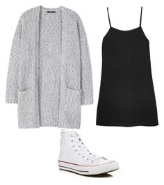 """""""Untitled #59"""" by mayaali on Polyvore featuring Reformation, MANGO and Converse"""