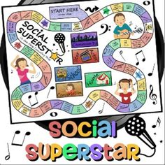 Sometimes+we+have+to+disguise+learning+into+games!++Students+love+games+but+working+on+conversation+and+social+skills+can+get+a+little+old+at+times.My+students+love+playing+this!++This+music-themed+game+contains+150+cards+(including+some+blank+ones+and+decorative+card+backs)+to+improve+social+and+pragmatic+language+skills+in+students+with+Autism,+Cognitive+Impairments,+or+other+social+skill+deficits.