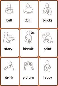 Image result for makaton signs for toys