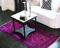 Found this beautiful antique rug on Etsy.com and bought it. The seller is London Varner. Fantastic customer service!!!