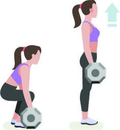 This intense hiit weight trainingworkout will help you develop sexy curves, tone your back, lift your boobs and more! Read the post for all the info!